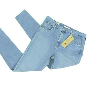 Levi's 720 Blue Jeans Size 14 Hypersoft High Rise
